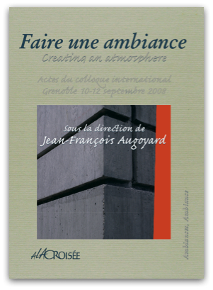 Proceedings of the 3rd International Congress on Ambiances